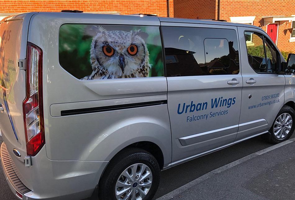 new urban wings van