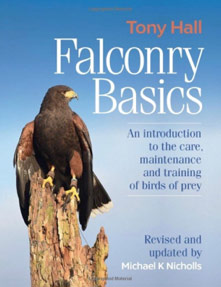 Hard-backed Falconry book included